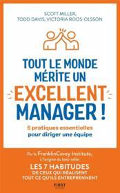 Tout le monde mérite un excellent manager - Couverture - Format classique