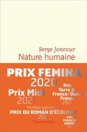 Nature humaine - Couverture - Format classique
