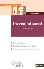 Int phil 24 du contrat social - Couverture - Format classique