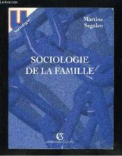 Sociologie De La Famille - Couverture - Format classique