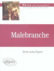 Malebranche - Intérieur - Format classique