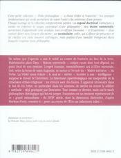 Malebranche - 4ème de couverture - Format classique