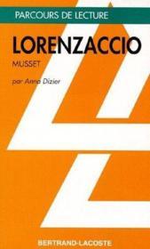 Lorenzaccio, Musset - Couverture - Format classique