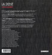 La dent normale et pathologique - 4ème de couverture - Format classique