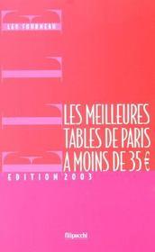 Les Meilleures Tables De Paris A Moins De 35 - Intérieur - Format classique