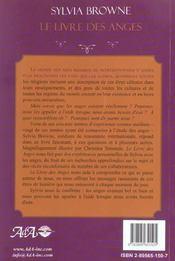 Le livre des anges - 4ème de couverture - Format classique