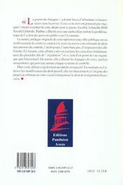 L'action des pouvoirs publics dans les offres publiques bancaires - 4ème de couverture - Format classique
