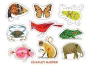 Charley harper classic wooden peg puzzle - Couverture - Format classique