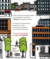 Rapido Dans La Ville - 4ème de couverture - Format classique