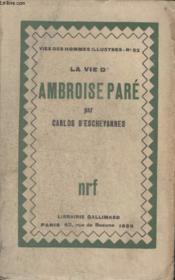Collection Vies Des Hommes Illustres N° 52. La Vie Dambroise Pare. - Couverture - Format classique