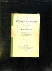 La Chanson De Roland. - Couverture - Format classique