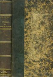 Chronique Du Cadet De Coutras. Memoires Pour Servir A L'Histoire De La Societe. - Couverture - Format classique