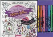 Coloriages 100% filles - Couverture - Format classique