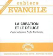 Supplement au cahiers evangile numero 64 la creation et le deluge - Couverture - Format classique