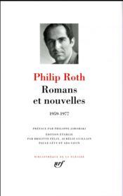 Romans et nouvelles ; 1959-1977 - Couverture - Format classique
