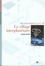 Le village interplanetaire - iii - Intérieur - Format classique
