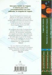 Le village interplanetaire - iii - 4ème de couverture - Format classique