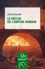 Le déclin de l'Empire romain - Couverture - Format classique