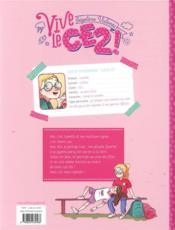 Vive le CE2 ! - 4ème de couverture - Format classique
