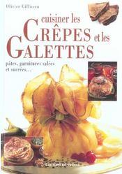 Cuisiner Les Crepes Et Les Galettes - Intérieur - Format classique