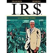 I.R.$ t.8 ; la guerre noire - Couverture - Format classique