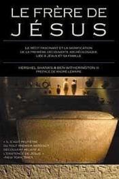 Le frère de Jésus - Couverture - Format classique
