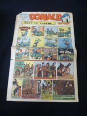 Donald, n° 259, dimanche 9 mars 1952 - Couverture - Format classique