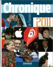 telecharger Chronique de l'annee 2011 livre PDF/ePUB en ligne gratuit