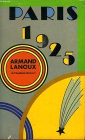 Paris 1925. - Couverture - Format classique