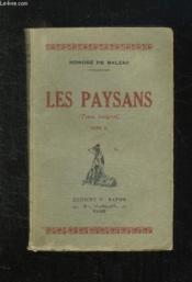 Les Paysans Tome Ii: Scences De La Vie De Campagne. - Couverture - Format classique