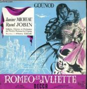 Disque Vinyle 33t Frere Laurent, Capulet, Tybalt, Mercutio, Gertrude, Prince De Verone, Gregorio, Stephano. - Couverture - Format classique