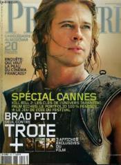 Premiere N° 327 - Special Cannes - Brad Pitt Seul Contre Troie - Couverture - Format classique