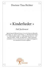Kinderlieder - Couverture - Format classique