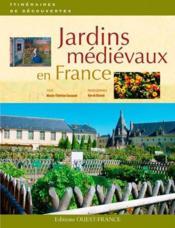 Jardins medievaux en France - Couverture - Format classique