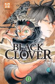 Black Clover T.1 - Couverture - Format classique