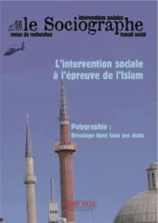 LE SOCIOGRAPHE N.58 ; islam et travail social : valeurs partagées ? - Couverture - Format classique