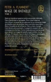 Mage de bataille T.2 - 4ème de couverture - Format classique