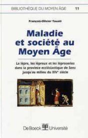 Maladie et société au moyen âge - Couverture - Format classique