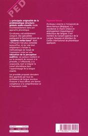 Apprentissage d'une langue étrangère/seconde t.2 ; la phonétique verbo-tonale - 4ème de couverture - Format classique