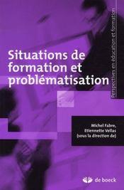 Situations de formation et problématisation - Intérieur - Format classique