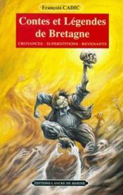Contes et legendes de bretagne - Couverture - Format classique