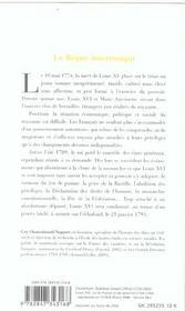 Louis xvi le regne interrompu - 4ème de couverture - Format classique