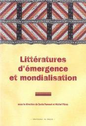 Litteratures d'emergence et mondialisation - Intérieur - Format classique