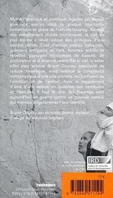 Agadez - 4ème de couverture - Format classique