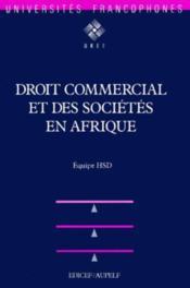 Aupelf droit comm.& soc.afr. - Couverture - Format classique