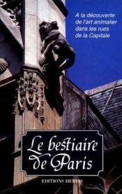 Bestiaire de paris - Couverture - Format classique