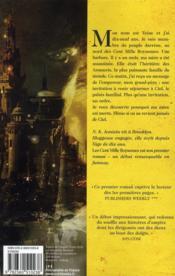 La trilogie de l'héritage t.1 ; les cent mille royaumes - 4ème de couverture - Format classique