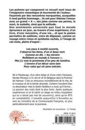 Au Bord Du Monde...Recueil De Poemes - 4ème de couverture - Format classique