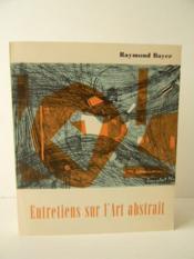 Entretiens Sur L'Art Abstrait. - Couverture - Format classique