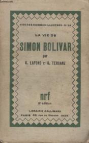 Collection Vies Des Hommes Illustres N° 53. La Vie De Simon Olivar. - Couverture - Format classique